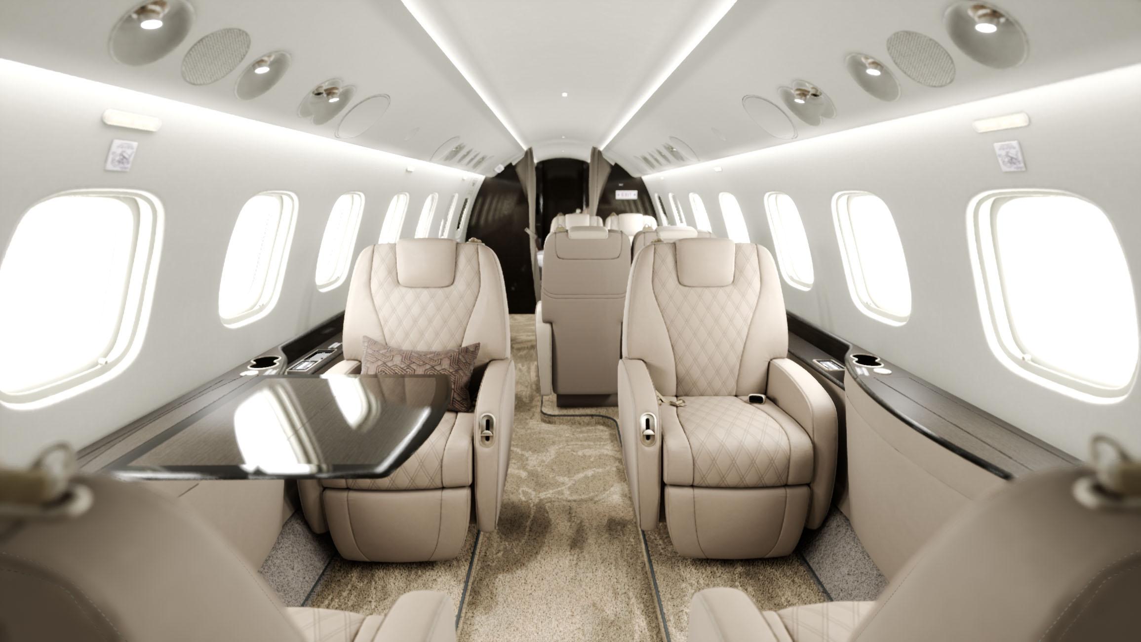L650 - cabin